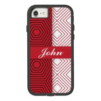 Geometric Red Case-Mate Tough Extreme iPhone 7 Case