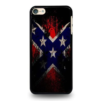 BROWNING REBEL FLAG iPod Touch 4 5 6 Case Cover