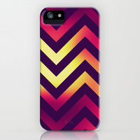 Chevronia I iPhone & iPod Case by Rain Carnival