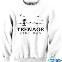 White Teenage Dirtbag LE Crewneck