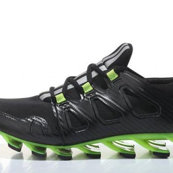 Adidas Springblade Ignite. Black & Fluorescent Green Men's Shoes