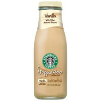 Starbucks Coffee Frappuccino Vanilla 13.7 Oz Pack of 12