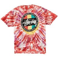 Stussy Reggae Dot Tie Dye T-Shirt - Men's at CCS