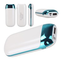 Universal 6000mAh Power Bank Portable B External Battery Charger Backup Cell Phone Chargers For IPhone iPad Samsung