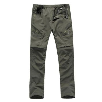 RAY GRACE Light Weight Quick Drying Convertible Pants For Men Cargo Pants Shorts Hiking Hunting Fishing Outdoor Sports Trousers