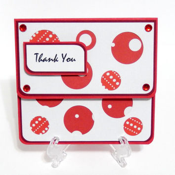 Gift Card Holder, Gift Card Envelope, Gift Card Box, Money Holder-Thank You