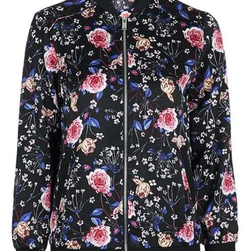 Floral Bomber Jacket - New In This Week - New In