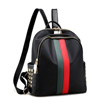 Mini Cute Backpack Purse Luxury Bags PU Leather/Oxford Small Backpack Handbag Purse Teen Travel School Bags For Women and Grils Alovhad