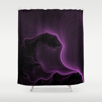 Ultra Violet Shower Curtain by Eric Rasmussen