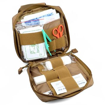 Military First Aid Kit Survival Belt Pouch
