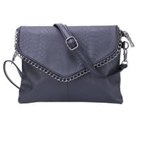 Cheap Women Envelope Bag Pu leather Handbag shoulder bags Ladies Crossbody Sling Messenger Bag Purses Blue Black Brown 7 colors