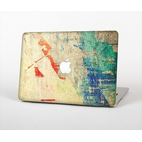 """The Grunge Multicolor Textured Surface Skin Set for the Apple MacBook Pro 15"""""""
