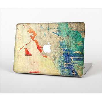 The Grunge Multicolor Textured Surface Skin Set for the Apple MacBook Pro 15""