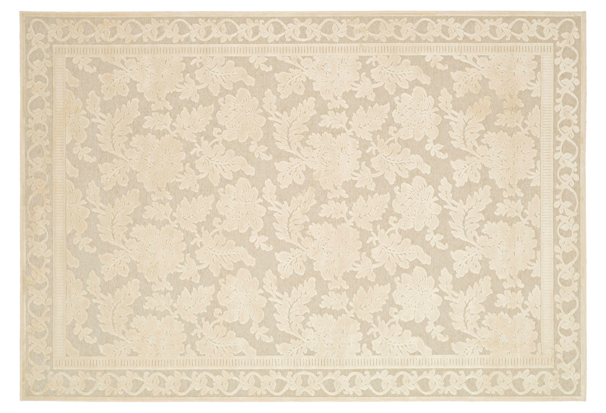 4 39 X5 39 7 Martha Stewart Cai Rug Cream From One Kings Lane