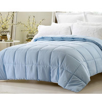 Super Oversized-High Quality Down Alternative Comforter-Lt.Blue
