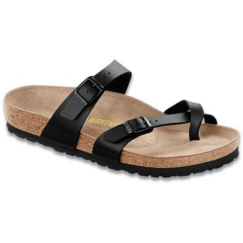 Birkenstock Classic Mayari Regular Fit Birko-flor Black - Beauty Ticks