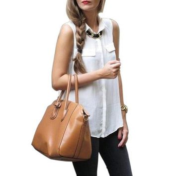 New Popular New Arrival Sexy Women Rivet Chiffon Sleeveless Shirt Blouse Stand Collar Vest Tops For Gifts
