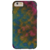 Pink Yellow Colorful cloud Tough iPhone 6 Plus Case