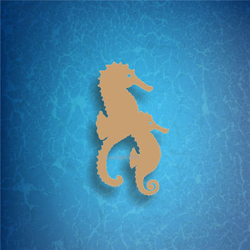 SEAHORSE /3/ vinyl decals * tumbler decals * car decals * tropical decals * under the sea decals * seahorse decals * sea life