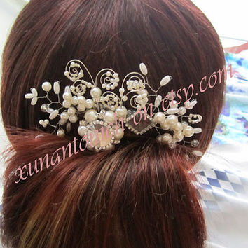 wedding style hair comb