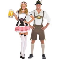 Bavarian Couples Costumes