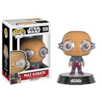 REPLACEMENT - FUNKO POP! STAR WARS MAZ KANATA