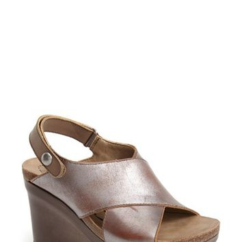 "Women's OTBT 'Blue Hill' Wedge Sandal, 3 3/4"" heel"