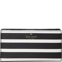 Kate Spade New York Women's Hyde Lane Stripe Stacy Wallet