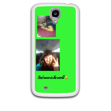 Custom Personalised Plastic Samsung Galaxy S4 White Case