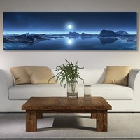 wall picture canvas painting art print landscape on canvas and posters wall art picture decoration for living room no frame