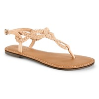 Braided Sandal
