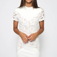 Warm Up Dress - White