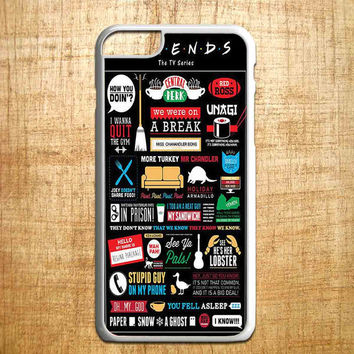 Friends TV Show Collage art for iphone 4/4s/5/5s/5c/6/6+, Samsung S3/S4/S5/S6, iPad 2/3/4/Air/Mini, iPod 4/5, Samsung Note 3/4, HTC One, Nexus Case*IP*