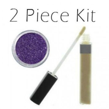 2 Piece Glitter Makeup Kit