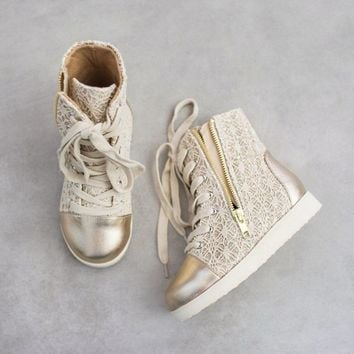 Outlet Joyfolie Mila Gold Sneakers