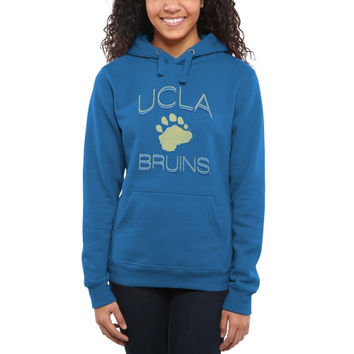 UCLA Bruins Women's Fade To Victory Pullover Hoodie – True Blue