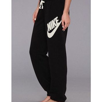 One-nice™ NIKE The Latest Fashion Print Sport Casual Pants Trousers Sweatpants