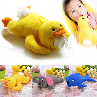 Animal Cover Baby Infant Feeding Bottle Feeder Case Insulation Keep Warm Holder