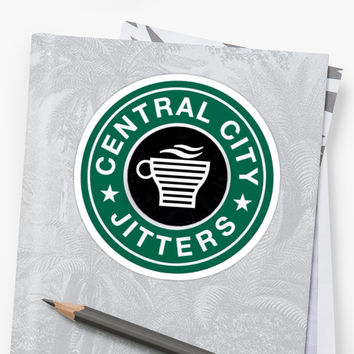 'CC Jitters' Sticker by hhfaith