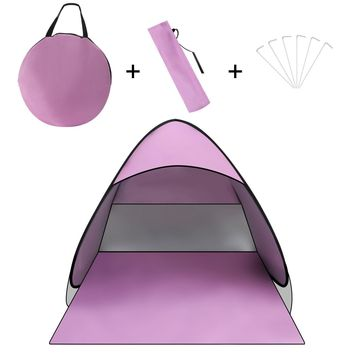 Portable Beach Outdoor Automatic Tent Folding Sun Shelter Pop Up