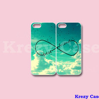 Infinity Best Friends iPhone 4 case, Best Friend iPhone 4 case, Cute iphone case