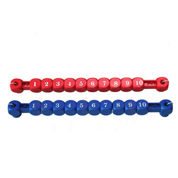 Set of 2 Foosball Scoring Units for Foosball Table Soccer Parts Scorer Indoor Board Game