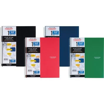 Mead Five Star® Notebook, 1-Subject, College Ruled, 8 1/2