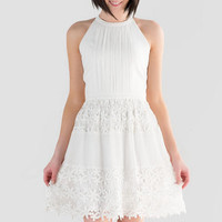 Cheyenne Lace Combo Dress