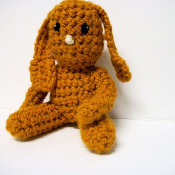 Crochet Rabbit Stuffed Animal Jolie by RopeSwingStudio on Etsy