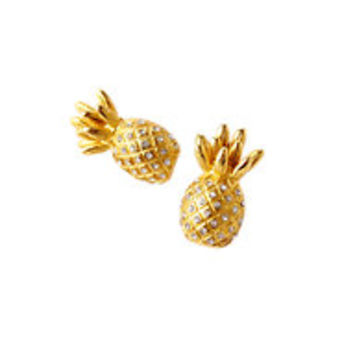 Flamenco Pineapple Earrings - Lilly Pulitzer