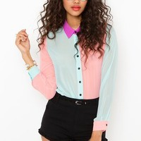 Sugar High Blouse in What's New at Nasty Gal