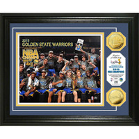 Golden State Warriors 2015 NBA Finals Champions Celebration Gold Coin Photo Mint