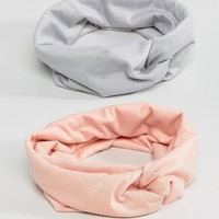 ASOS Pack of 2 Twist Headbands at asos.com