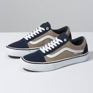 Vans Old Skool Pro(Twill)Dress Blue